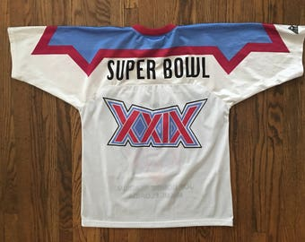 Vintage 90s Super Bowl XXIX NFL Apex Jersey Size - Medium