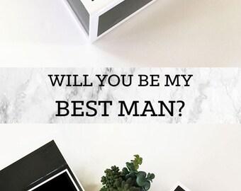 best man cigar box custom cigar box cigar gift box