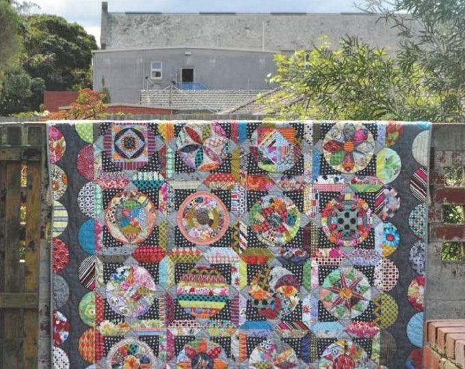 The Circle Game Quilt Pattern by Jen Kingwell