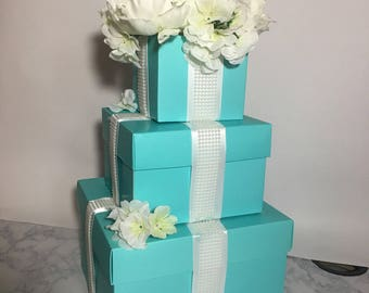 Breakfast at Tiffanys' Inspired Party Decor- Centerpiece