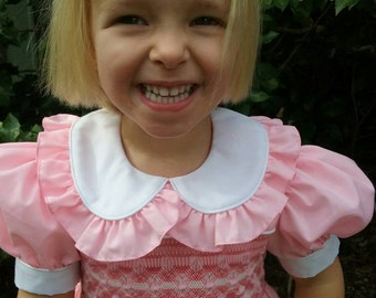 Size 3 Hand Smocked Dress