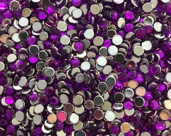 1000pc 5mm acrylic rhinestone
