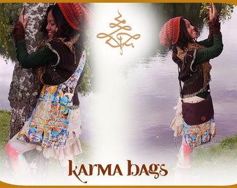 Karma Bag & Pillow - Sacred Décollage - Soft Cotton new Edition