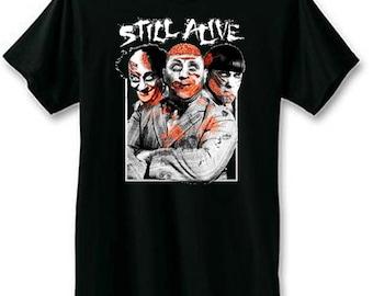 3 Stooges Still Alive Zombie T-Shirt   3 Stooges T-shirts   U.S. Custom Ink