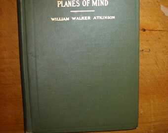 Subconscious And Superconscious Planes of Mind 1909 Antique Psychology Book Mentality Mental Habits Inherited Memory The Subconscious Memory
