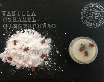 Vanilla Caramel Gingerbread