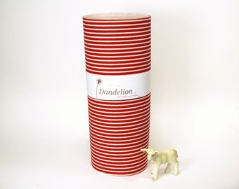 "1 Piece of Candy Cane Stripes 100% Merino Wool Felt 20.3cm x 30.4cm (8"" x 12"")"