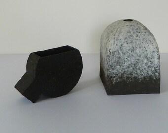 Gillian Montegrande, Stoneware Sculptural Forms, Studio Pottery, Fine Art Ceramic