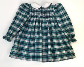 Plaid Polly Flinders Dress