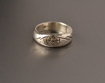 il of rings ring etsy illuminati eye horace market evil