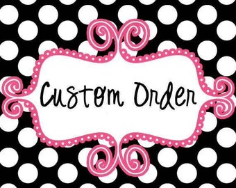 Deposit/ First Payment for Treasures and Tiaras Order