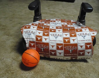University of Texas  toddler booster seat cover--booster seat not included