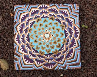 Square Mandala Painting