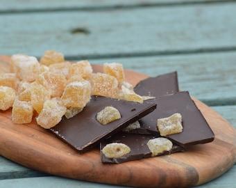 Ginger Chocolate Bar (vegan friendly)