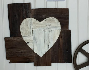 Large Rustic Heart