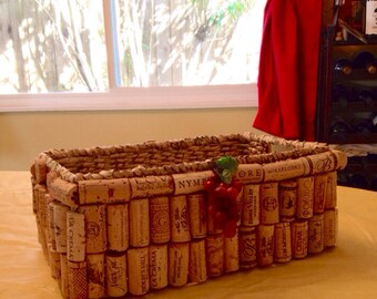 Wine Cork Basket