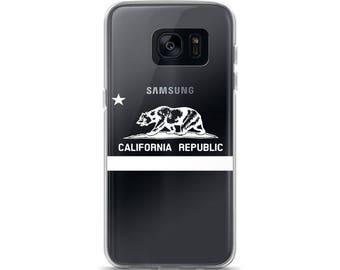 California Flag White Samsung Case