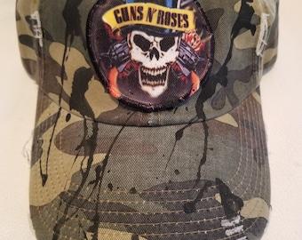 Guns & Roses  Camo  Baseball hat