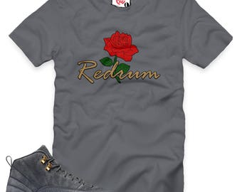 Dark Grey 12 Rose Redrum T-Shirt