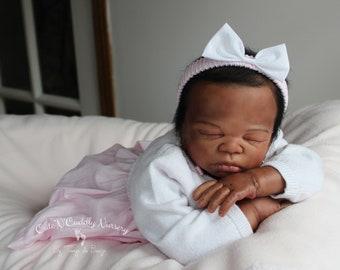 Charlize ~ Beautiful Ethnic Baby Girl ~ OOAK ~ Cute'N'Cuddly Nursery