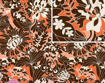 140258001 - Amy Butler August Fields Full Bloom By the Yard Coral
