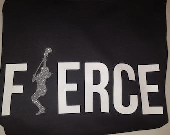 Lacrosse fierce tshirt