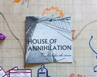 House of Annihilation: Calm Before the Storm Zine