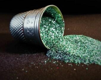 glitter - aqua ultra-fine polyester