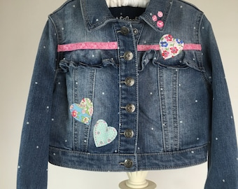 Altered Couture size 4T, 5T Denim Jacket