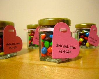 Glass jar etsy wedding favor jars diy wedding shower favors favours 24 do it solutioingenieria Choice Image