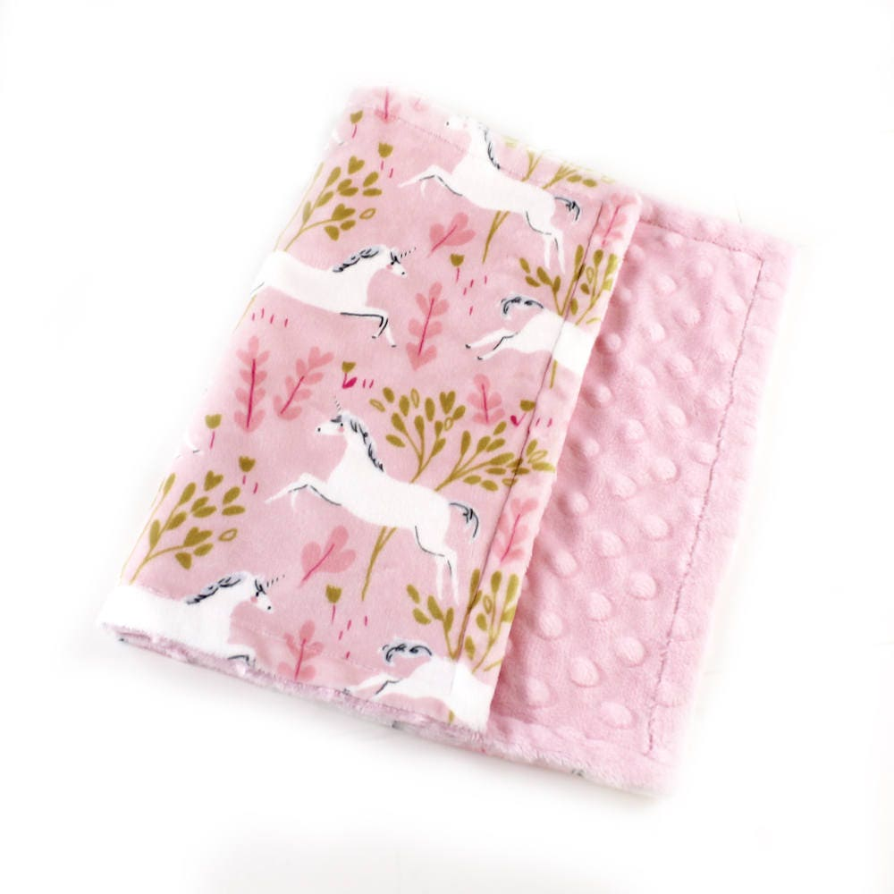 Baby girl unicorn baby lovey minky baby blanket lovey baby girl unicorn baby lovey minky baby blanket lovey personalized baby blanket pink unicorn blanket tag blanket burp cloth baby gift negle Images