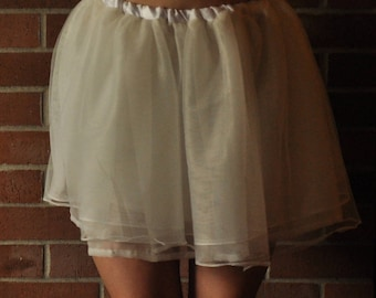 White ballet skirt