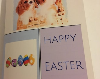 Cavalier Easter cards