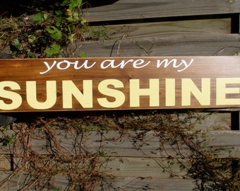 You Are My Sunshine-49x9.25 Extra Long Board