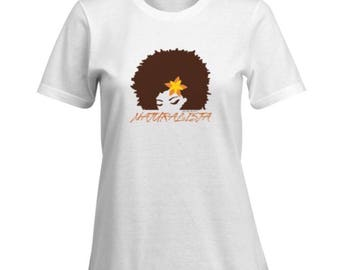 NATURALISTA 100% Cotton Premium SignatureSoft T-Shirt in white or black