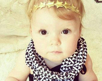 First Birthday, First Birthday Outfit, Toddler Headband, Baby Headband, First Birthday Girl, Gold Star Headband, Newborn Headband
