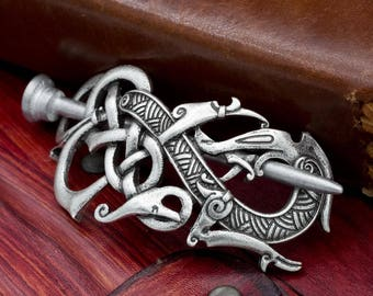 Norse Viking Celtic Jelling Style Hairpin Hair accessory