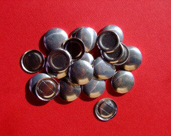 Cover Buttons - Size 36 (22mm) - Flat back - Pack of 100
