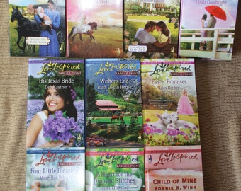 10 Love Inspired Books / Love Inspired Novels / Lot 2