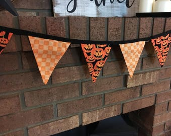 Fabric Bunting: Halloween - wall decor
