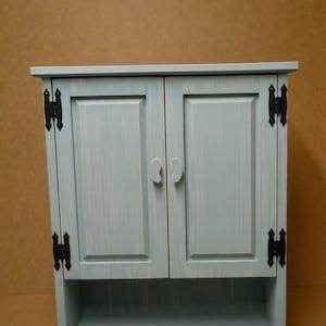 Distressed Pine Bathroom Cabinet