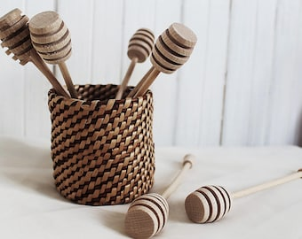 Woven willow bowl (craft room storage, decorative basket, Mothers day, gift for her)