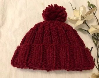 Knitted Women's Winter Hat