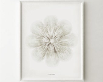 White Flower art print, White home decor, White wall art Flower PRINTABLE art, White Bedroom decor Bathroom art White decor Neutral wall art