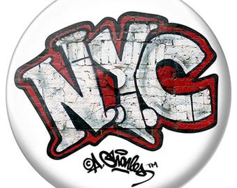 Andre Charles NYC Graffiti Pin