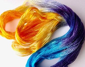 Harmony Hand Dyed Tencel Thread Size 8
