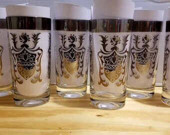 Vintage MCM Kimiko Guardian Highball Glasses Set of 6
