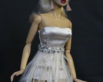 Dress for fashion royalty