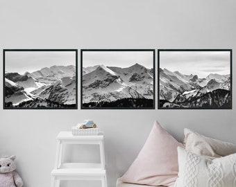 Large Wall Art Home Decor Office Decor Gift For Men Digital Download Boyfriend Gift For Her Landscape Photography Minimalist Poster Mountain