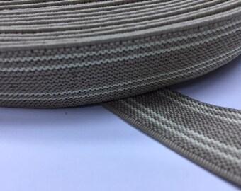 Suspender Elastic, wholesale suspender elastic, elastic by the yard, elastic waistband, elastic band